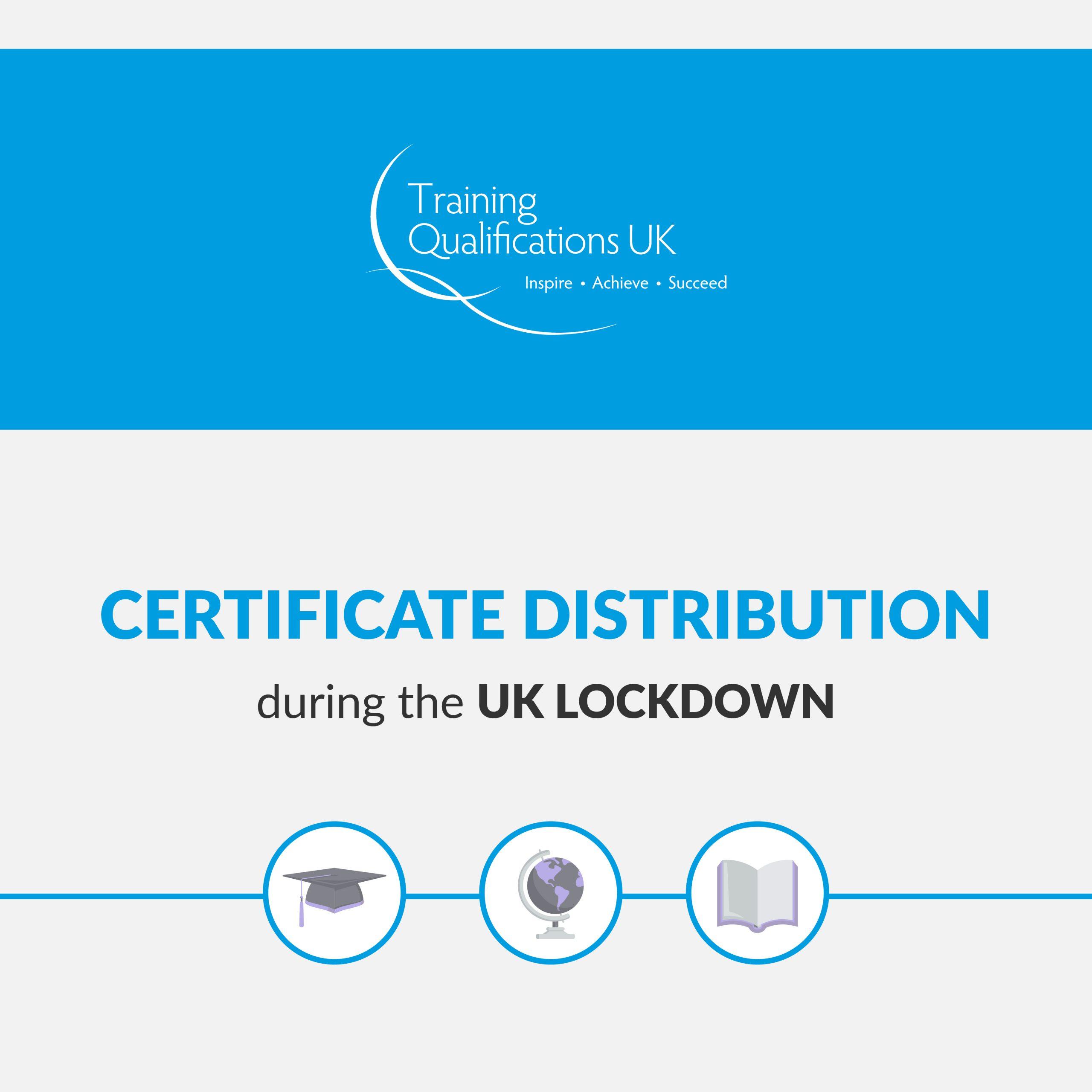 Coronavirus: Certificate distribution during the UK lockdown